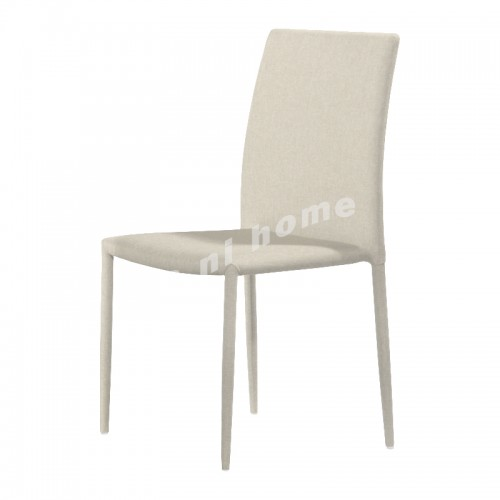 Dning chair, synthetic leather, beige, 812020