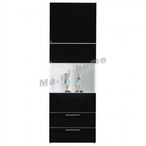 CROWN 600 WALL UNIT, GLOSS BLACK & WHITE,809471