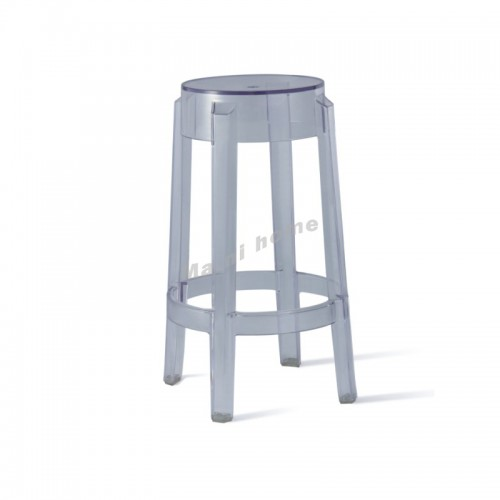 LINEA bar stool, clear