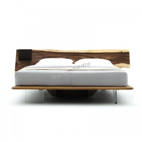 SLINE bed, Albizia + Metal + acrylic, 815879