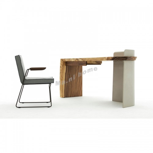 SLINE 1700 Desk, Albizia + Plywood, 815890