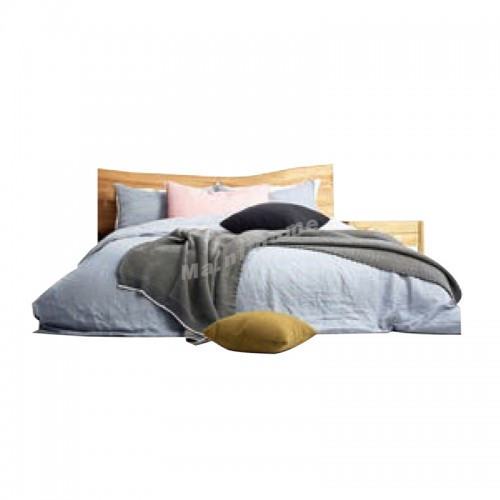 ALINE Bed, Ash, Rowan, 815906