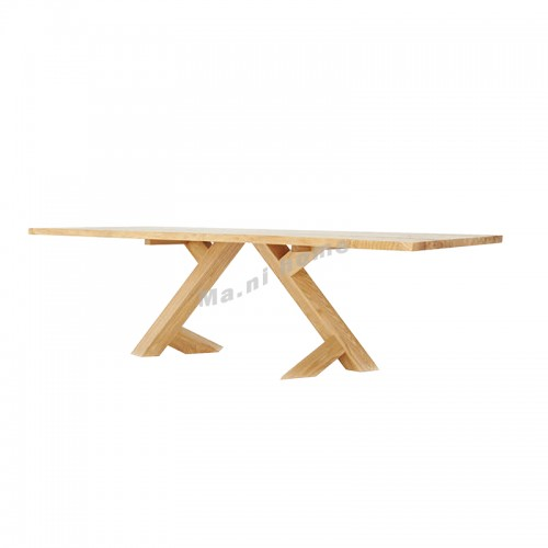 ALINE 2000 dining table, ash + rowan, 815910