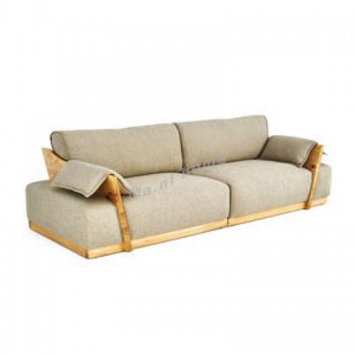 ALINE 2800 3 seat sofa, ash, fabric, 815923