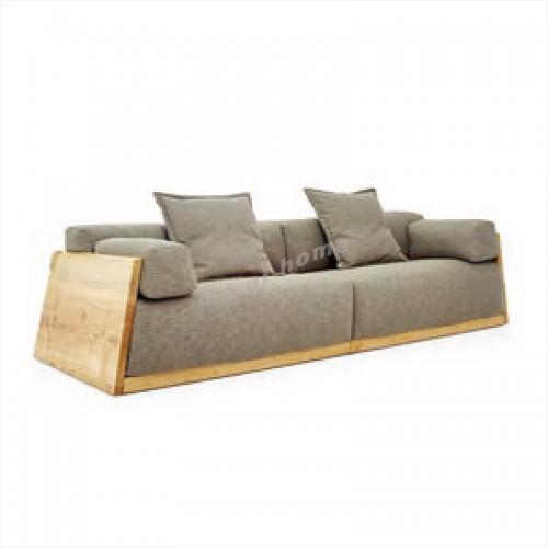 ALINE 2800 3 seat sofa, ash, fabric, 815924