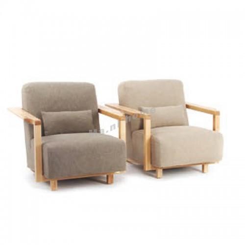 ALINE 900 1 seat sofa, ash, fabric, 815925