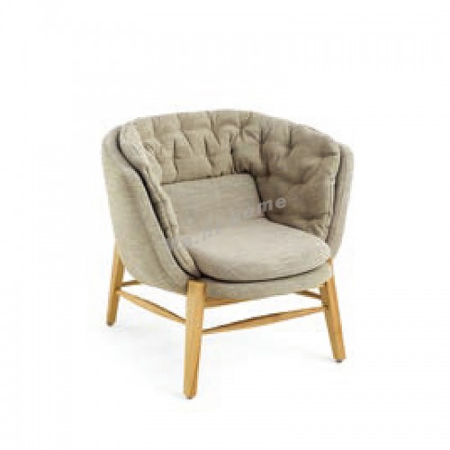 ALINE 850 1 seat sofa, ash, fabric, 815932