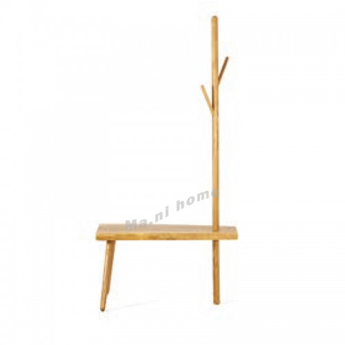 ALINE 800 chair with coat hanger, ash, 815933