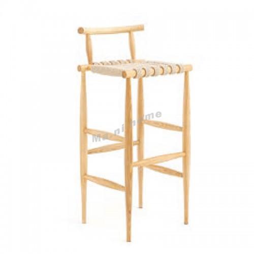 ALINE 440 bar stool, ash + twin, 815935