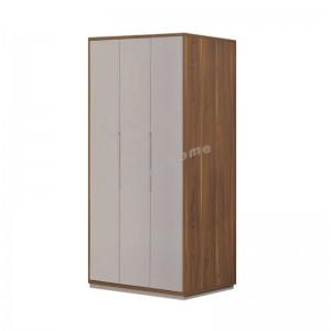CCINO hinge door cabinet,walnut color / Khaki color