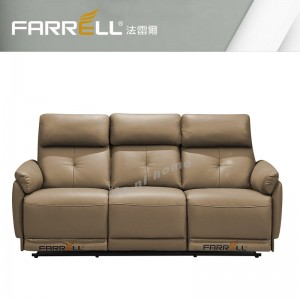 FARRELL 3 seats Recliner, leather sofa promotion