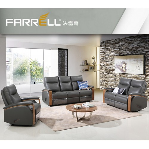 FARRELL  Leather sofa( recliner )