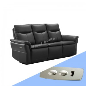 SIERRA  3 seat Leather sofa, G4135 promotion