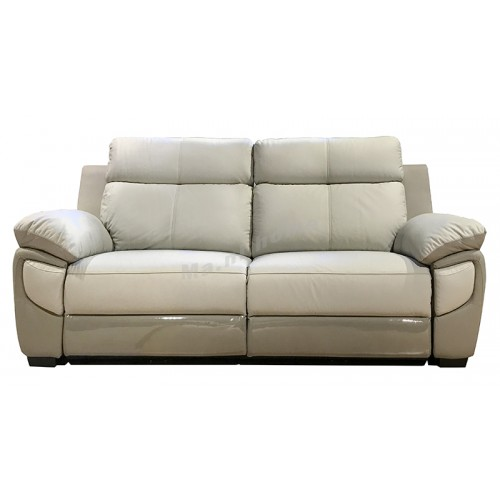 DUO electrical recliner, leather sofa