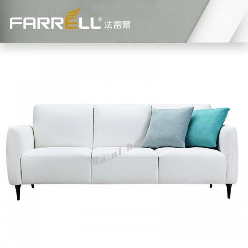 PEBBLE leather sofa