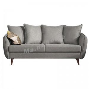 FIORE 2000 三座位布藝梳化, 灰色, 花布, 813803