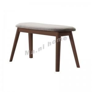 ELMER 900 長椅, 胡桃木色+灰色, 814617
