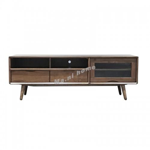 ELME 1600 tv cabinet , Oak + cherry wood color ,817677