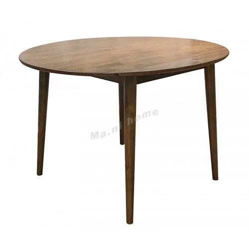 ELME 1200 dining table, Oak + cherry wood color