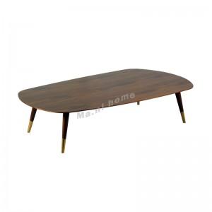 BRICK 1000 coffee table, walnut veneer, 814704