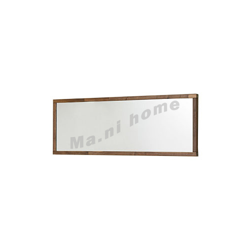 BRICK 1500 wall mirror, walnut veneer, 814768