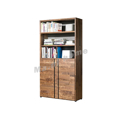 BRICK 1100 bookcase, walnut veneer, 814745