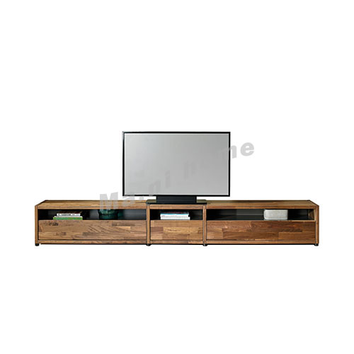BRICK 2800 TV cabinet, walnut veneer, 814746