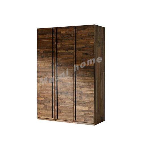 BRICK 1500 wardrobe, walnut veneer, 814750