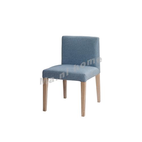CLEMENT 480 fabric dining chair, oak veneer, 815397