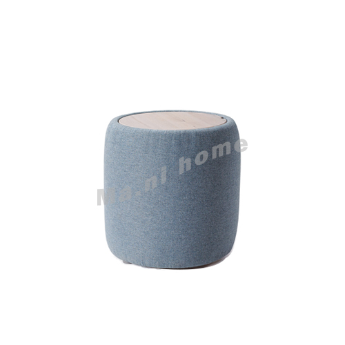 CLEMENT 400 fabric stool, solid seat, 815400