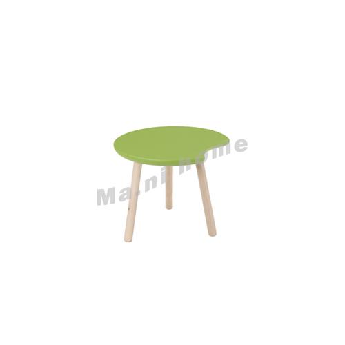 CLEMENT 600 wooden coffee table, oak veneer, green, 815426
