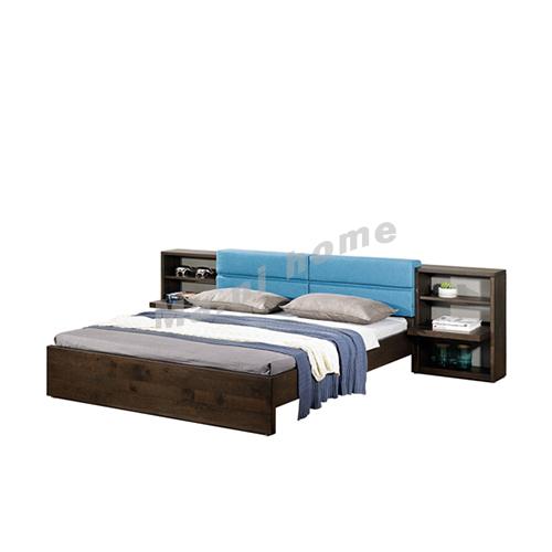 FINN 3200 bed, oak veneer, 814795