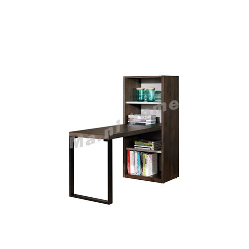 FINN 700, bookcase with desk, oak veneer, 814800