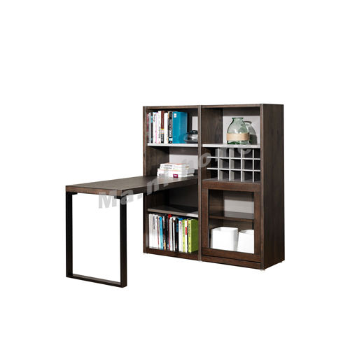 FINN 1300, 書櫃連書檯, 橡木飾面 814801