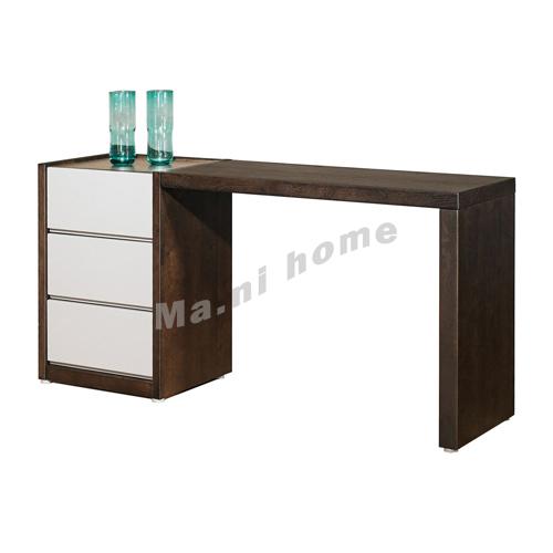 FINN 1500 dresser, oak veneer + grey, 814845