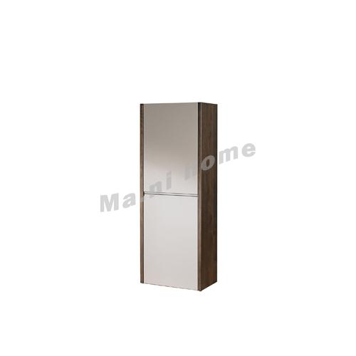 FINN 500 hanging cabinet , oak veneer + grey, 814861