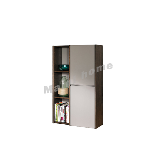 FINN 820 hanging cabinet , oak veneer + grey, 814865