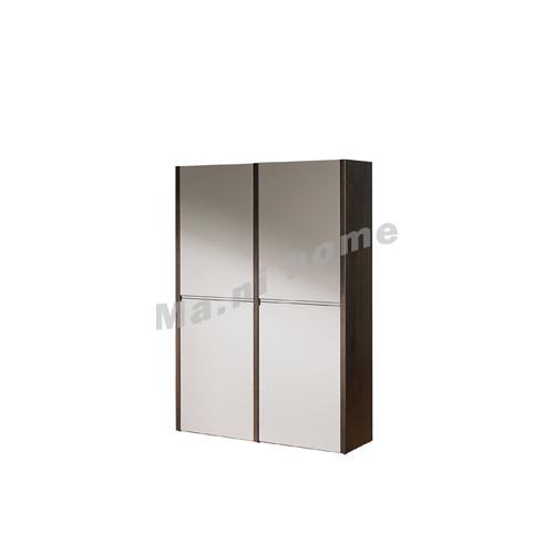 FINN 970 hanging cabinet , oak veneer + grey, 814866