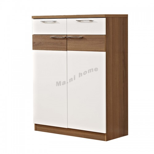 ACCORD 800 shoes cabinet, light walnut color+white, 815549