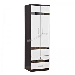 BIGIO 600 hinge door wardrobe with drawers+mirror, 815553