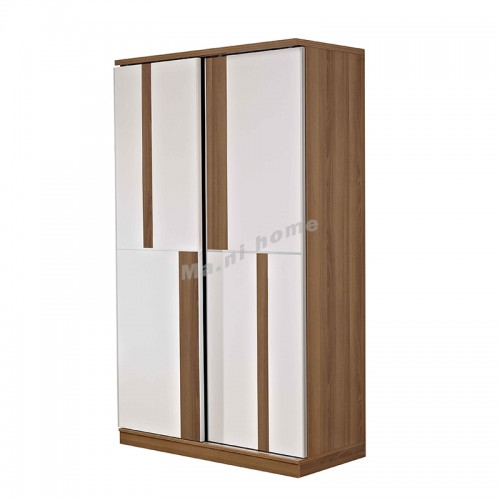 ACCORD sliding door wardrobe + white color