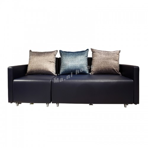FRANK 3 seat sofabed ,synthetic leather