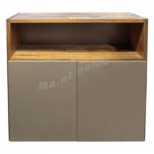 BRICK 1100 鞋櫃, 胡桃木飾面, 811247