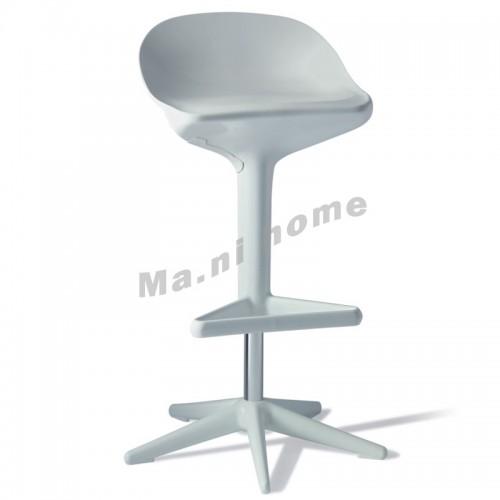LINEA bar stool, white, 800556