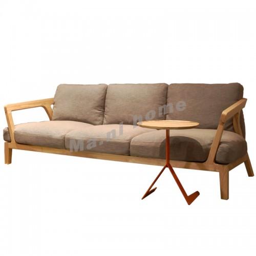 ALINE 2200 3 seat sofa, white ash, 803746