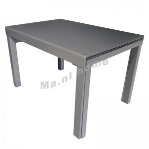 CATIA 開合餐檯, 炭灰色+灰色檯面 , 813854