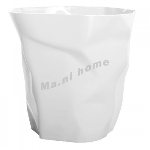 FOLD rubbish bin, white