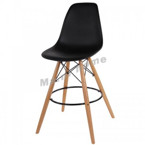 LINEA bar stool, black, 800561