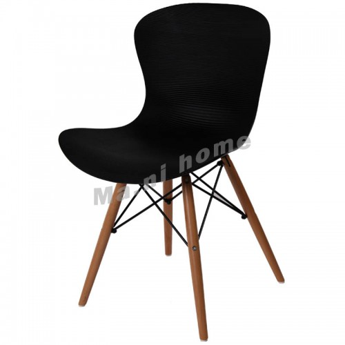 LINEA dining chair, black,800420