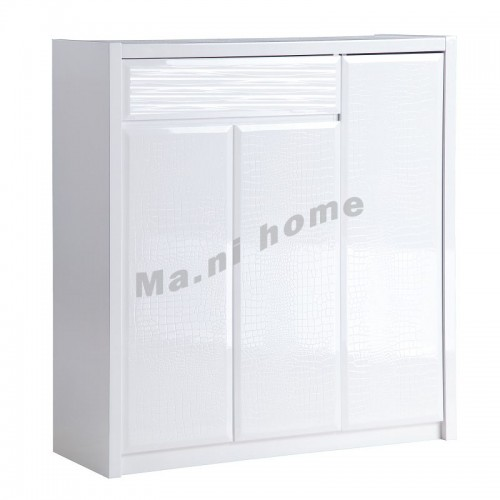 CUBO 1000 shoes cabinet, gloss white,804895